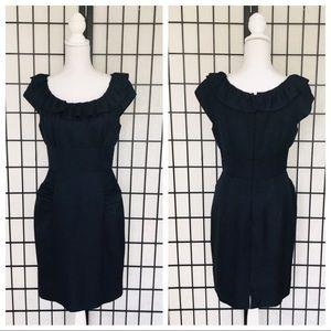 GUC Kay Unger New York Cap Sleeve Sheath Dress
